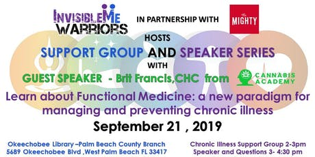 Functional Medicine: a new paradigm for managing Chronic Illness tickets