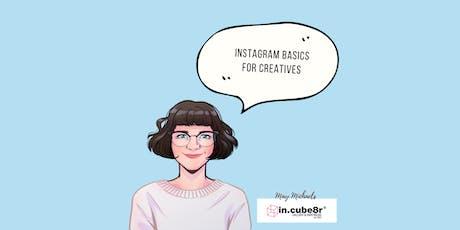 Instagram your brand (basics) - Marketing Kickstart for Creatives - Fitzroy tickets