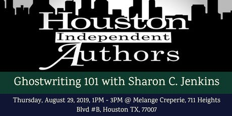 Writers Lunch: Ghostwriting 101 With Sharon C. Jenkins tickets
