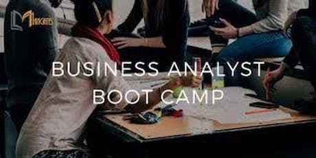 Business Analyst 4 Days Virtual Live BootCamp in Brussels tickets