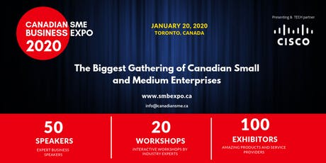 CanadianSME Business Expo 2020 tickets