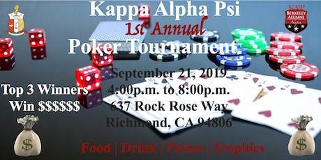 1st Annual Berkeley Alumni   Texas Hold'em Poker Tournament tickets