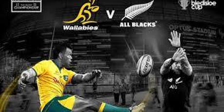 Live!@...All Blacks v Wallabies Live tickets