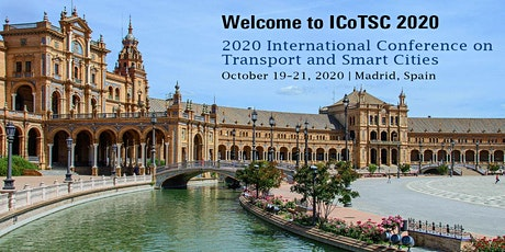 2020 International Conference on Transport and Smart Cities (ICoTSC 2020) tickets