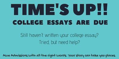 College Essay Writing Workshop w/PA Certified English Teacher