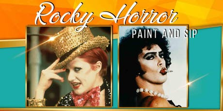 Rocky Horror Paint and Sip tickets
