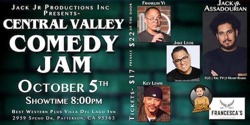 Central Valley Comedy Jam
