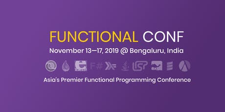 Functional Conf 2019 tickets