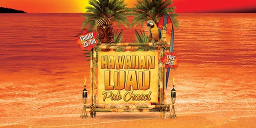 HAWAIIAN LUAU PARTY BUS & PUB CRAWL