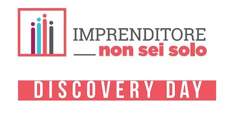 Discovery Day Imprenditore non sei solo biglietti