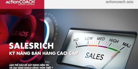 [Tp. HCM] SalesRICH - Kỹ Năng Bán Hàng Cao Cấp tickets
