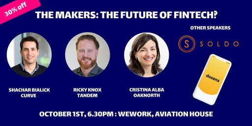 The Makers Live Podcast: The Future of FinTech