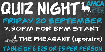 Quiz Night - Anahilt & Magheraconluce Community Association
