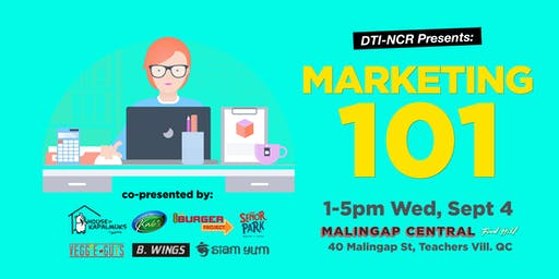 Marketing 101 with DTI-NCR!