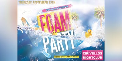 Safari FOAM Party