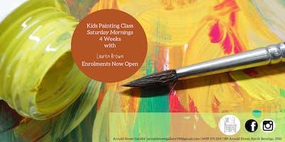 Kids Painting Class with Lauren Brown