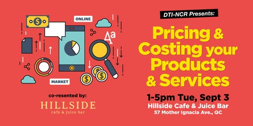Pricing & Costing Workshop with DTI-NCR!