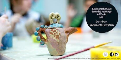 Kids Ceramic Class with Lauren Brown tickets