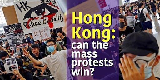 Hong Kong: can the mass protests win?
