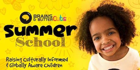 Brains & ButterCubs summer school tickets