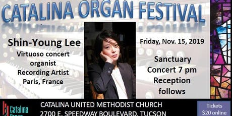 Shin Young Lee - Virtuoso Organist and Recording Artist in Concert billets