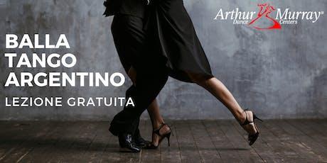 Lezione di prova Gratuita - Balla il Tango Argentino biglietti