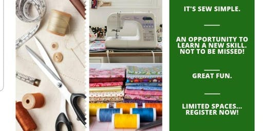 It's Sew Easy! Sewing Class.