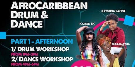 AfroCaribbean Drum & Dance tickets