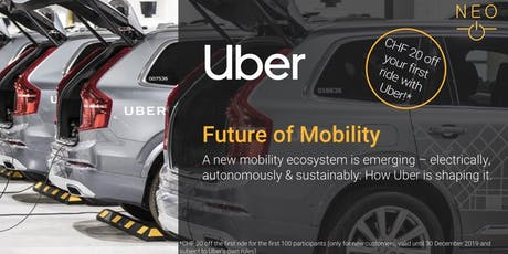 NEO Keynote - Uber: Future of Mobility tickets