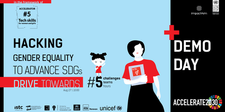 Drive Towards #5: Hacking Gender Equality to Advance SDGs tickets
