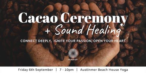 Cacao Ceremony & Sound Healing