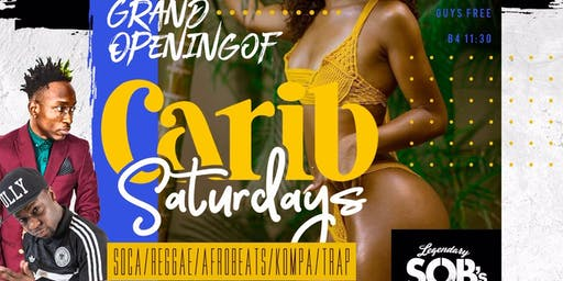 Grand Opening of Carib Saturdays @ SOB's
