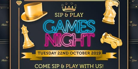 Sip & Play: Games Night tickets