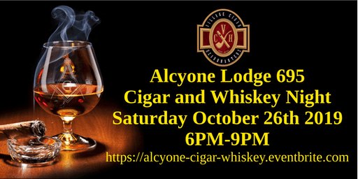 Alcyone Cigar and Whiskey Night