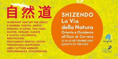 SHIZENDO La Via Della Natura | Oriente e Occidente all'Oasi Cervara