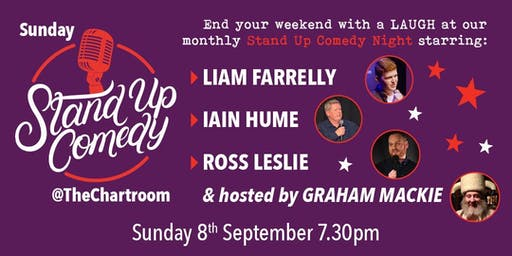 Sunday Stand-Up at The Chartroom