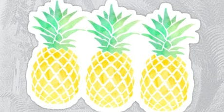 Paper Pineapple Plate @ Hale End Library tickets