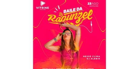 Baile da Rapunzel ingressos