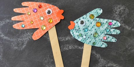 Fish Puppets @ Hale End Library tickets