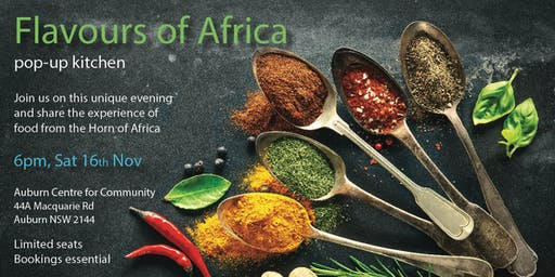 Flavours of Africa Pop Up Dinner