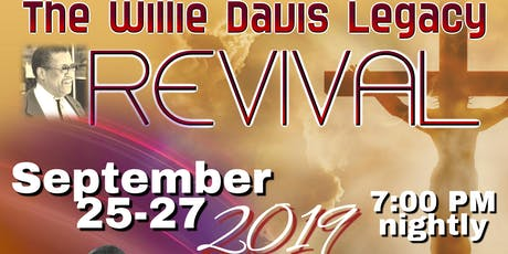 The Willie Davis Legacy Revival tickets