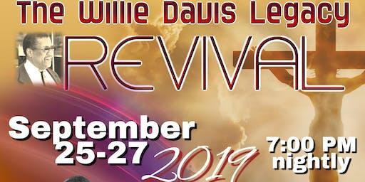 The Willie Davis Legacy Revival