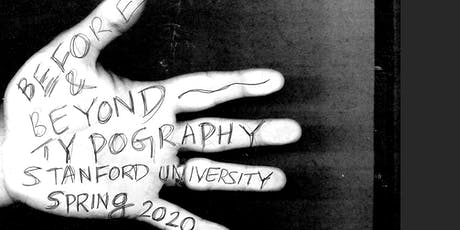 Before & Beyond Typography: Text in Global & Multimodal Perspective tickets
