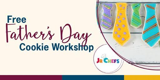 Free Father's Day Cookie Workshop