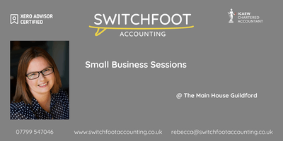 Small Business Clinic - Guildford - Xero, Accountancy, Tax & Cashflow!
