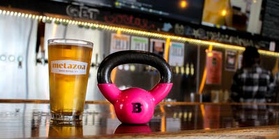 Barre + Brews at Metazoa Brewery