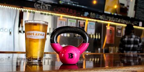 Barre + Brews at Metazoa Brewery tickets