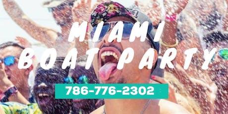 MIAMI NIGHTLIFE BOAT PARTY + JET SKI & BANANA BOAT  tickets
