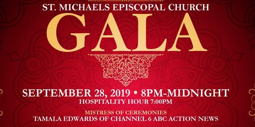 St. Michael's Episcopal Church Gala