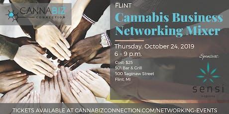 Flint Cannabiz Connection Networking Mixer tickets